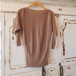Gold Sparkle Sweater